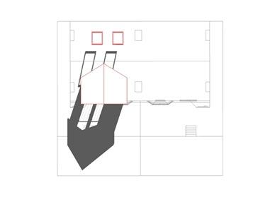 Loft white model red outline 04